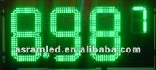 Oil Gas station 8', 10', 12', 16', 18', 20',24', 30', 48', 60',72' Gas Station 7segment led gas price display