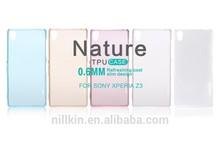 Nillkin TPU mobile phone case For SONY Xperia Z3(L55) Super Thin 0.6mm