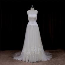 cap sleeve real sample little mermaid wedding dress