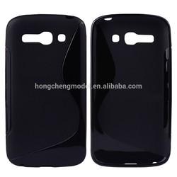 For Alcatel Pop C9/OT7074D, S Line Soft TPU Celular Phone Case Cover, Silicon Accessory, Factory Wholesale Price
