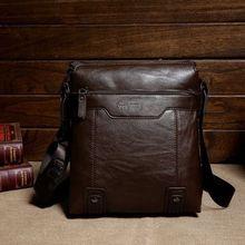 PU leather shoulder briefcase conference bag