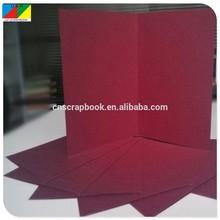 Colorful handmade wedding invitation card, handmade birthday card