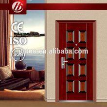good quality steel exterior doors 2014 hot sale elegant steel security door from foshan