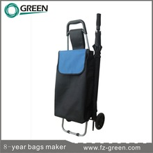 2015 Trendy Shopping Trolley Bag With Chair