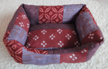 cheap dog bed, polyester fabric