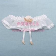Wedding Suppliers Beach Theme SeaShell Wedding Garter With Ribbon Bridal Garter