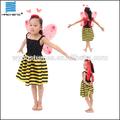 crianças amarelo abelha fantasia de carnaval