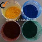iron oxide pigment Fe2O3/black red blue yellow color/construction grade