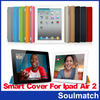 Flip Sleep wake Smart Cover Magnetic Case PU leather with stand holder for ipad 2 3 4 5 6 For ipad Air 2 Case