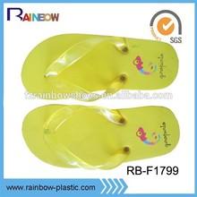 2014 comfortable rubber kids flip flop slipper