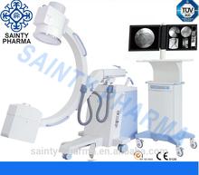 Carro móvil médica avanzada industrial acondicionado-brazo fluoroscopio máquina de rayos x