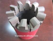 Hot pressed NQ HQ PQ Diamond Core Drill Bits