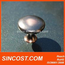 2014 Medium Mushroom Oil Rubbed Bronze Knob for door