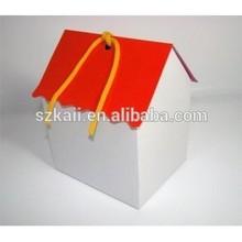 OEM cardboard box house designs