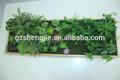paisajismo sjzzy verde artificial de las paredes de la planta para la decoración del hogar