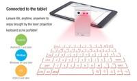 Top sale Bluetooth lazer keyboard for smart phones, Tablets
