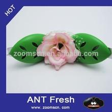 oem flower shape car vent clip membrane air freshener new product