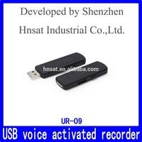 Best selling Mini hidden VOX digital voice recorder,Audio recorder UR-09