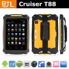 "Cruiser T88 7"" Lowest price IP66 windows mobile barcode"