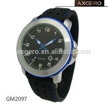 Sports silicone strap custom logo q&q quartz watch models