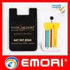 China Low price Custom Logo Design sticky silicone phone bag