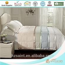 luxury washable hotel down alternative microfiber quilt / comforter / duvet