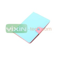High Quality leather Back Cover for iPad 6 Green