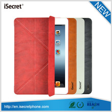 2014 the coolest tablet bag shell folio leather protective case for ipad mini 3