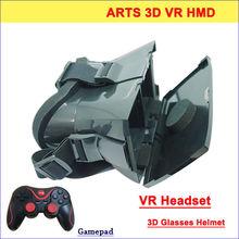 Plastic vr Headset Virtual Video Glasses Full HD