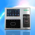 La cara granding reconocimiento de tiempo y el sistema de asistencia y control de acceso sistema/con copia de seguridad de la batería y tarjeta de identificación( iface302)