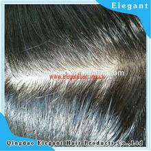 Indian virgin hair best natural looking silk top base hair wigs for men price