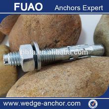 Cuneo di ancoraggio/hilti bullone di ancoraggio/iso9001:2008 bullone di ancoraggio