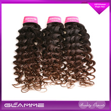 No Tangle 5A best human hair deep curly virgin hair