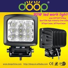 led work light 90w trucks led work light 4wd led driving lights