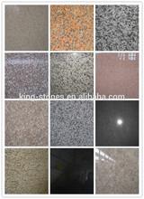 หนาแผ่นหินรูปแบบพื้นผิวและขัดหินแกรนิตขนาดแผ่นจบ