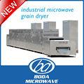 continua secadora de granos microondas industrial