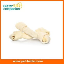 Dog treats / knotted bones bleaching white knotted bone for dog chews