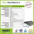 la presión estática de la pila del suelo solar pv panel de montaje de la estructura