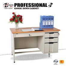 lockable practical kd structure school/office computer desk
