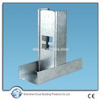 China steel stud sizes metric