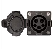 Sae J1772 charging socket UL # saej1772 electric vehicle auto male plug adapter