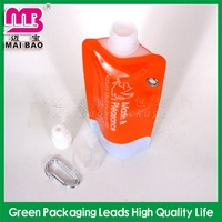 clsssical design pouches for carbonated beverages