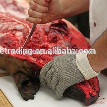Metal mesh meat cutting gloves