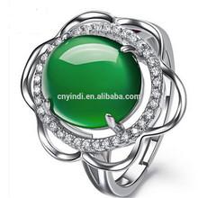 2015 Hot Styles emerald Jade Ring Jewelry