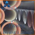tawil fundición centrífuga tipo y forma redonda de hierro dúctil k9tubería