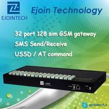 2014 Hotsale GSM gateway! ! Ejoin automatic imei change GoIP 32, 32 channel 128 Sim free registration