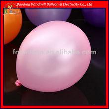 metallic pink balloon with certificate EN71 100% natural latex material