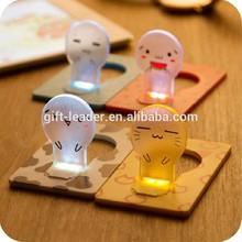 bulb shaped led card light