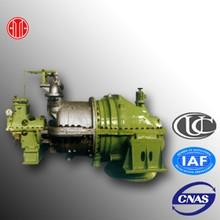 1000kw generatore della turbina a vapore per la fabbrica di prodotti chimici