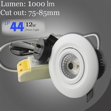 dimmable led downlight 3w recessed lens, 5w or 6w led dimmable downlight, 90mm smd changing color downlight